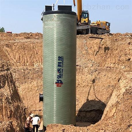 安徽一体化预制泵站厂家 玻璃钢 按需定制