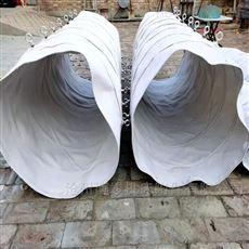 帆布集尘卸料伸缩布袋厂家