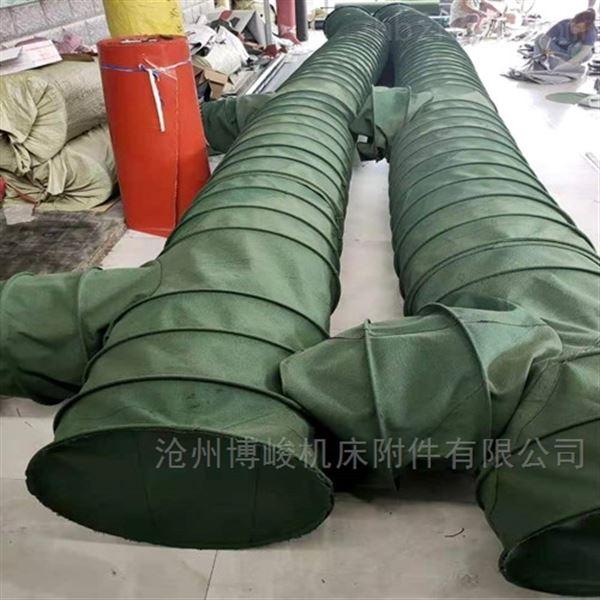 环保除尘通风伸缩布袋厂家定做