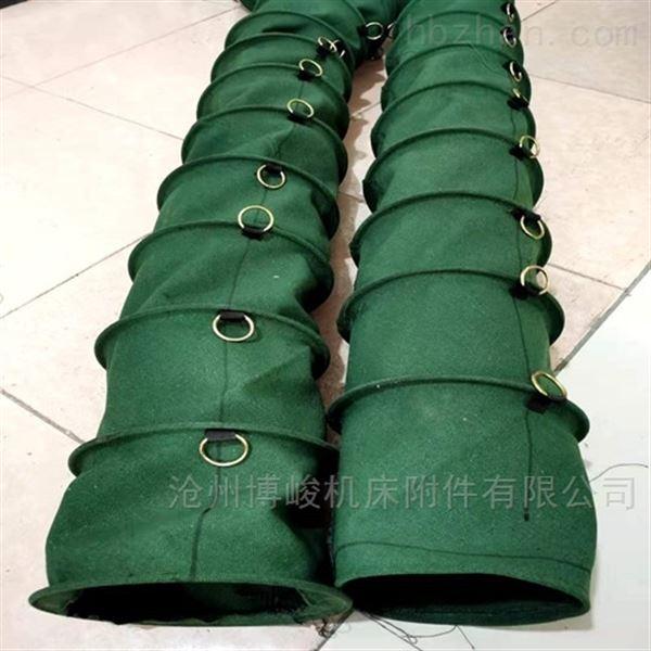 放料除尘散装机帆布伸缩布袋厂家生产