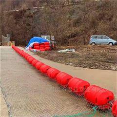 夹网浮排拦汛网浮筒