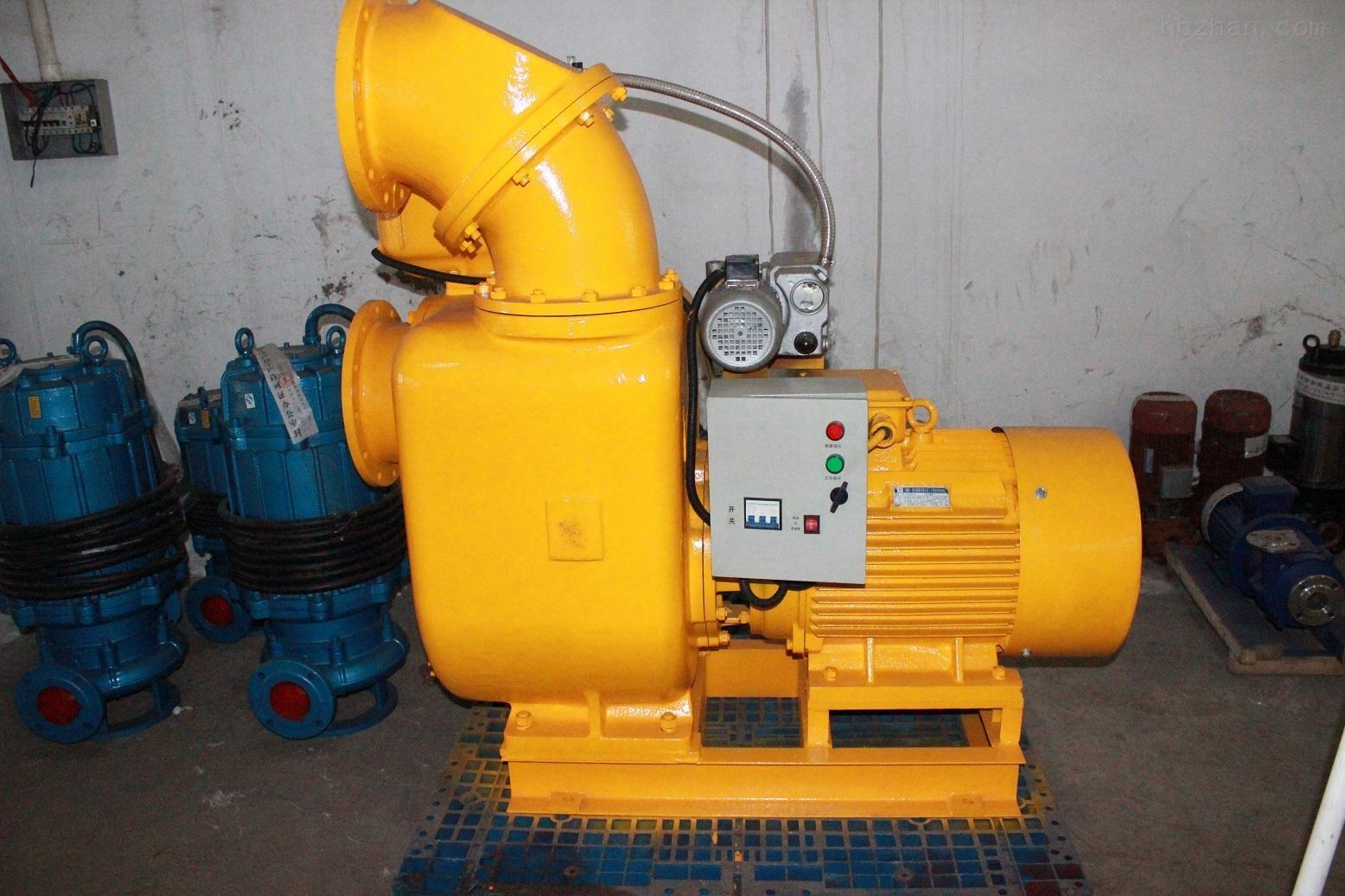 强吸力污水自吸泵