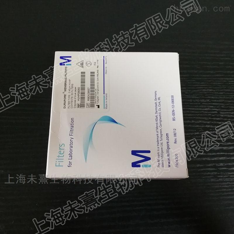 密理博PVDF滤膜直径90mm孔径0.45um