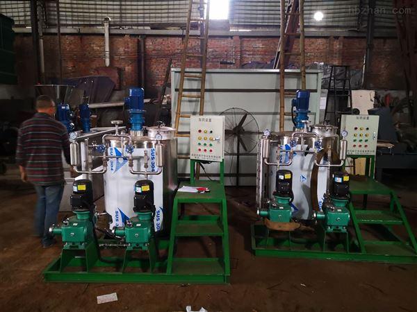 全自动连续式不锈钢PAM溶液制备系统