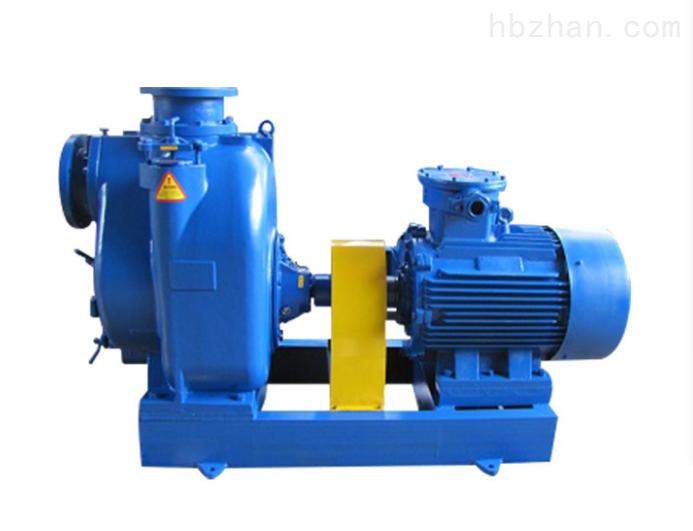 不用灌水可以空转的强力自吸排污泵