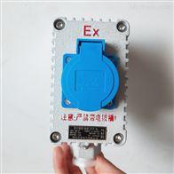 BQK-1K单插双联明装工业插头防爆墙壁插座