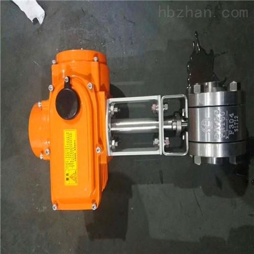 电动低温焊接式球阀