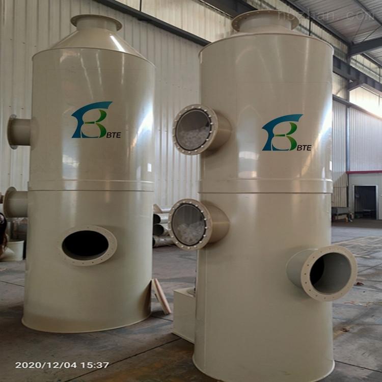 厂家直销PP喷淋洗涤塔喷漆废气处理设备