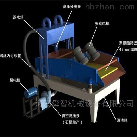 河北机尾沙细砂回收机,衡水矿用振动脱水筛