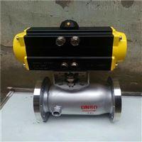 BQ641F气动一体式保温球阀