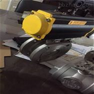 Q671F氣動對夾式超短型球閥
