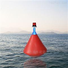 拦船带灯三角锥形水域隔离标示航标