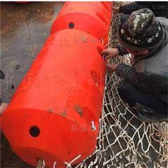 组合式水电站大坝夹网拦污浮筒