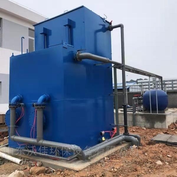 一体化净水装置工作原理