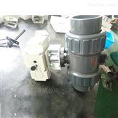 酸碱性流体PVC电动球阀