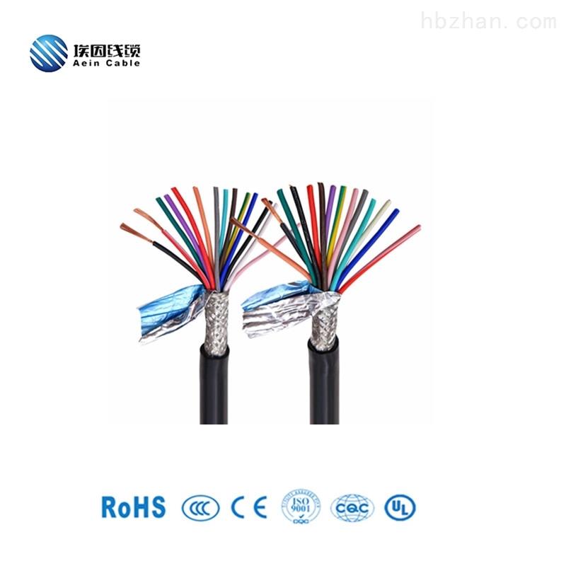 TPE材質高柔性屏蔽歐標認證拖鏈電纜
