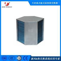 亲水铝箔新风换气机用显热六边形换热器