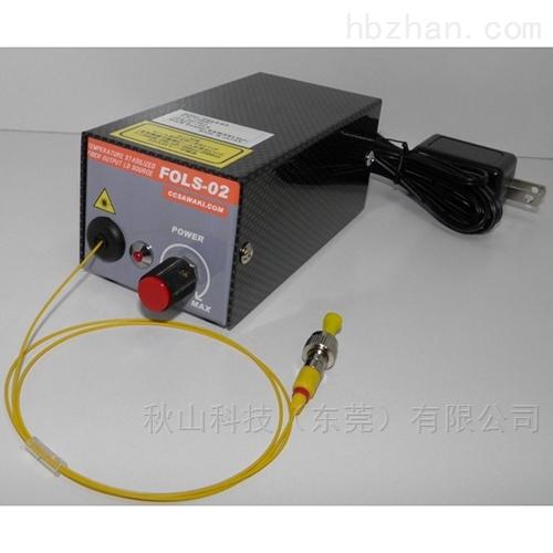 日本ccsawaki温控型SM光纤输出光源FOLS-02