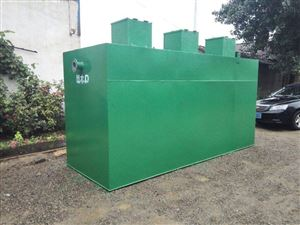 HR-SH鄂州美丽山区污水处理机