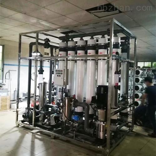 矿泉水生产用超滤设备