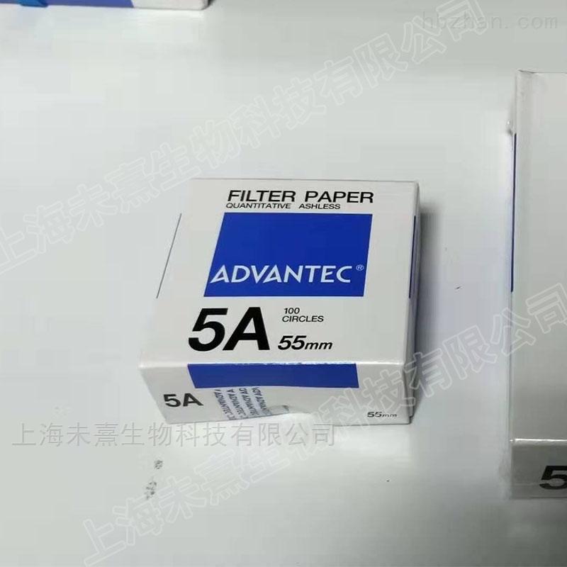 ADVANTEC孔径7um 5A定量滤纸