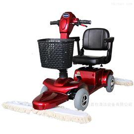 电动尘推车 电瓶驾驶式推尘机 座驾式拖地机