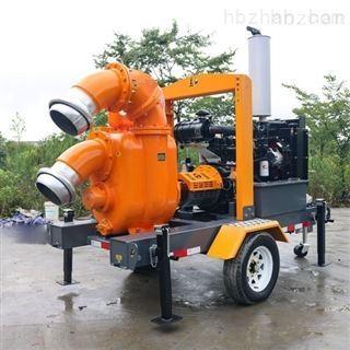 700方移动开架式防汛排水泵车