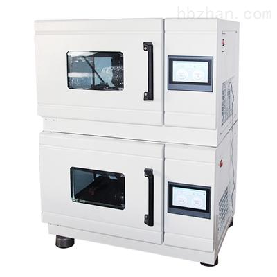 二层叠加式空气浴恒温摇床  TS-2402CL恒温摇床 智能触控震荡器