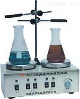 双头磁力加热搅拌器