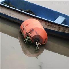 海上警戒抬揽浮水上工程塑料浮筒采购