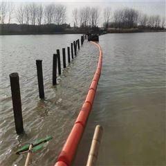 河面水浮莲浮球拦截网管式拦污排型号