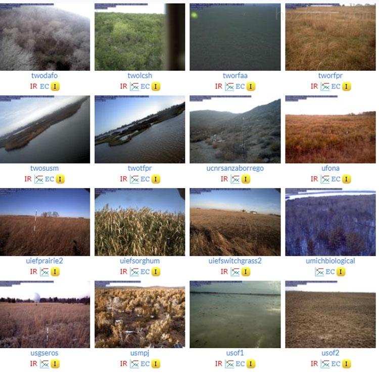 植物生长节律在线物候自动观测系统