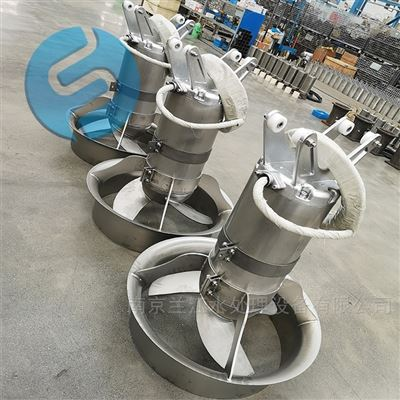 QJB4/12-620/3-480除磷阶段冲压式潜水搅拌机