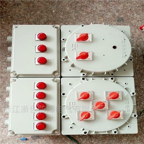 IIC级防爆控制箱