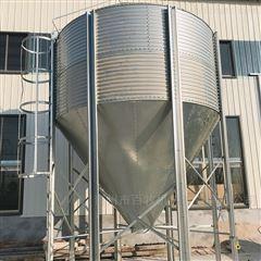 自动化养殖饲料镀锌料塔的简介