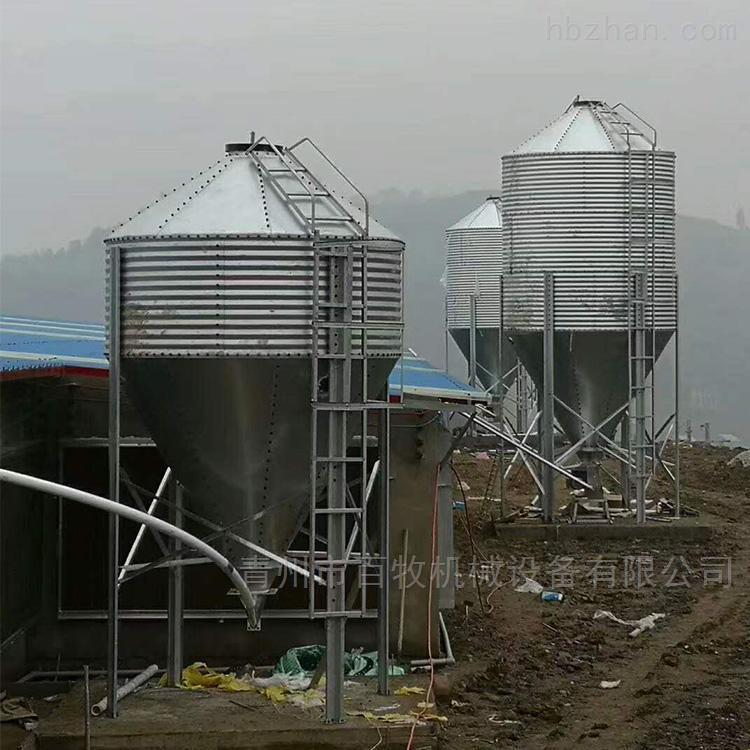 15T料塔-镀锌板料塔厂家销售中