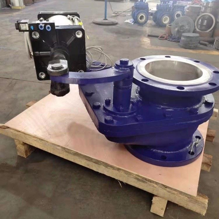 BZ643TC气动陶瓷摆动式旋转阀