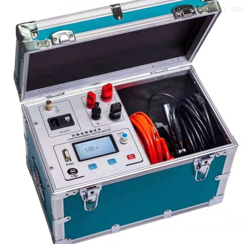 100A高精度开关回路电阻测试仪