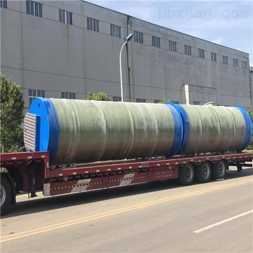 润平供水 了解环保设备 一体化预制泵站