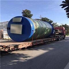城市供水雨水收集环保 一体化预制泵站