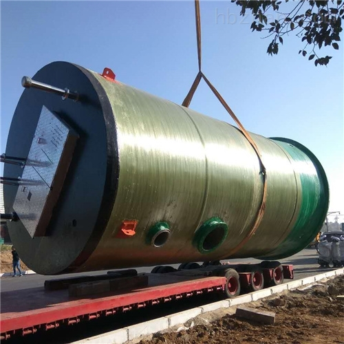 润平供水 建筑污水处理 一体化预制泵站