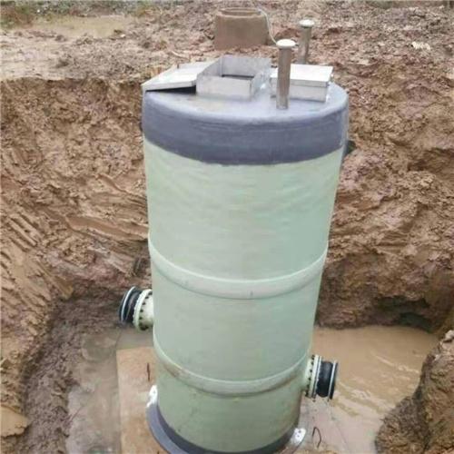 净水设备污水输送 一体化预制泵站
