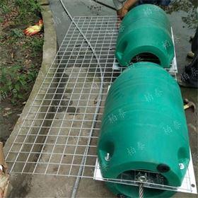 FT河道拦阻索水库坝前浮式拦污浮筒装置