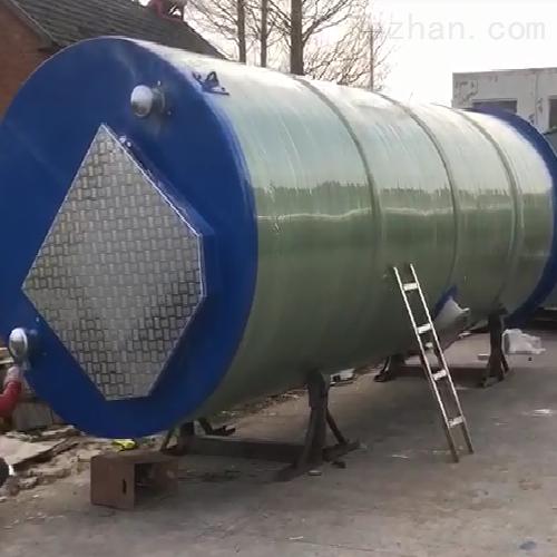 润平供水 自动清洗雨水收集 一体化预制泵站