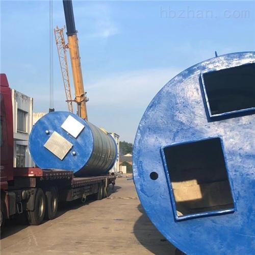 润平供水 铁路排水处理 一体化预制泵站