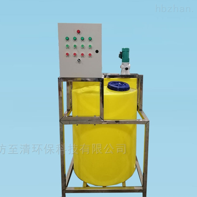山东水厂pac全自动加药装置