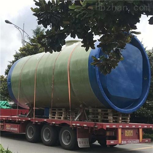 城市乡村环境优化污水处理 一体化预制泵站