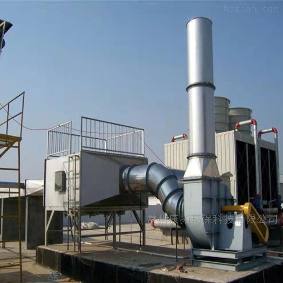 炼胶车间异味处理活性炭催化燃烧设备厂家