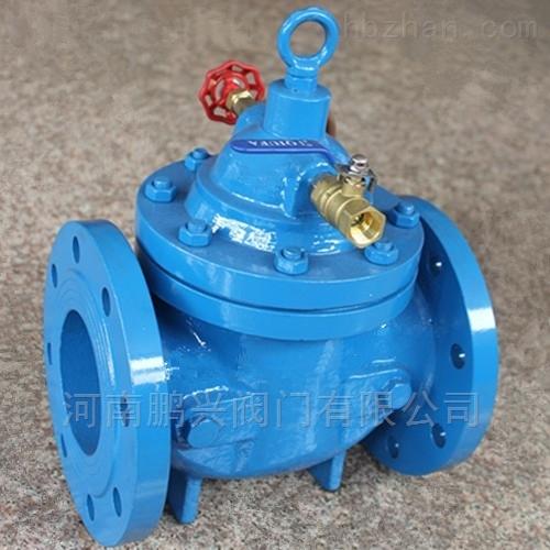 水箱水塔水池自动补水阀100X遥控浮球阀