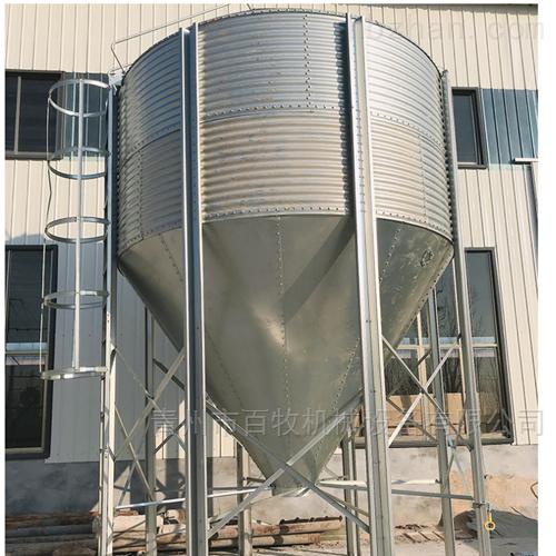 湖南养鸡场20吨全自动上料塔-养殖料塔厂家